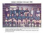 Lemmer veteranen in de zaal, 1981