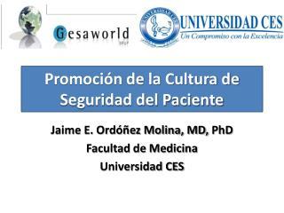 Promoci n de la Cultura de Seguridad del Paciente