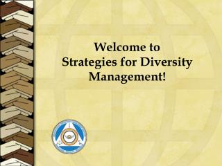 Welcome to  Strategies for Diversity Management