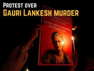 Gauri Lankesh murder protests highlights