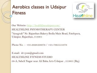 Aerobics classes in Udaipur Fitness