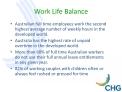 Work Life Balance