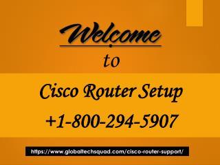 Cisco Support Helpline Number 1-800-294-5907