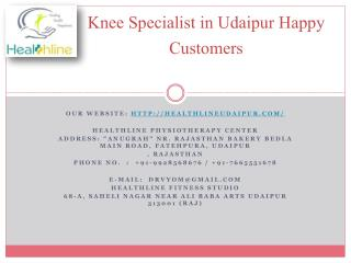 Knee Specialist in Udaipur Happy Customers