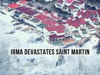 Caribbean Island Devastated By Hurricane Irma