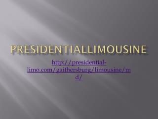 PresidentialLimousine