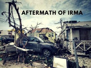 Aftermath of Hurricane Irma in Florida