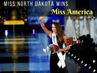 Miss North Dakota is crowned Miss America 2018
