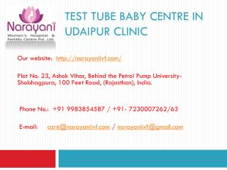 Test tube baby centre in Udaipur Clinic