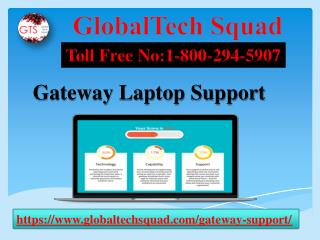 Gatway Laptop Support Phone Number 1-800-294-5907