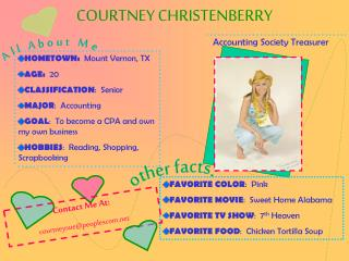COURTNEY CHRISTENBERRY