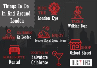 Things to do and around London