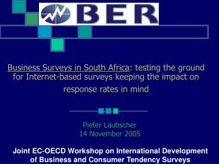 Business Surveys in South Africa : testing the ground for Internet-based surveys keeping the impact on response rates i
