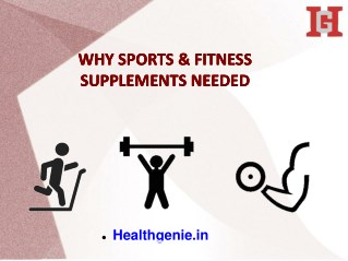 Sports & Fitness Supplements In India