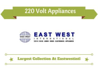 220 Volts Electronic Online Store
