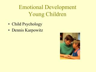 Emotional Development Young Children