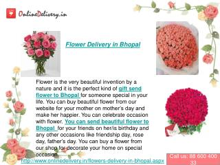 flowers Delivery in Bhopal
