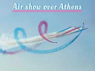 Air Show Over Athens Faliro