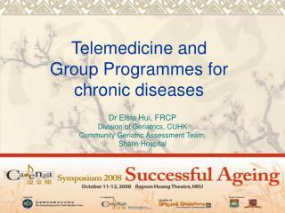 Telemedicine and
