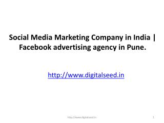 Social Media Marketing Company in India | Facebook advertising agency in Pune