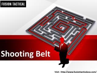 Shooting Belt