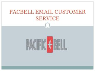 Pacbell Email Tech Support