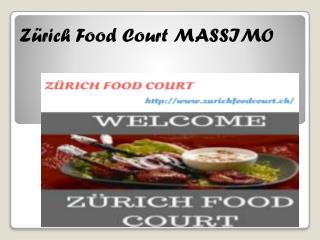 Zürich Food Court MASSIMO