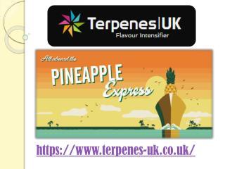 Cannabis derived terpenes