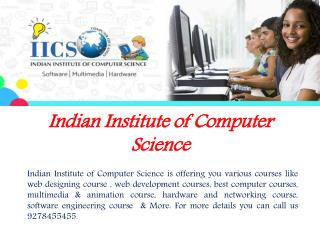 Affordable Web Design Courses in Delhi with IICS India