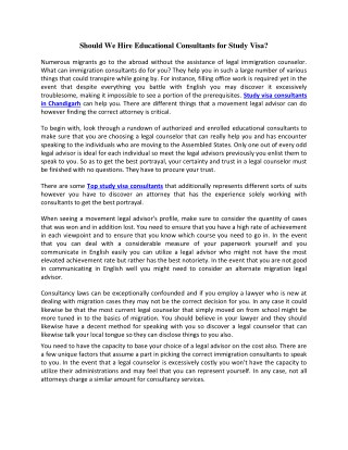Career Overseas | Study Visa Consultant | Student Visa in Chandigarh