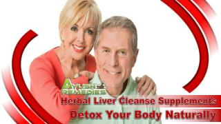 Herbal Liver Cleanse Supplements - Detox Your Body Naturally