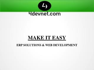 4devnet.com.au - ERP Company in Australlia, Web Development Australlia.