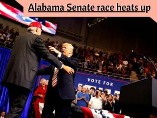 Trump Travels To Alabama As Senate Race Heats Up