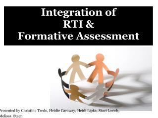 Integration of  RTI   Formative Assessment