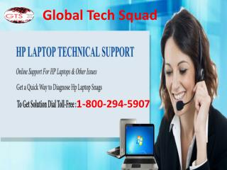 Hp Laptop Support Number 1-800-294-5907