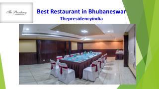Best Restaurant in Bhubaneswar