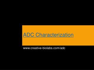 ADC Characterization