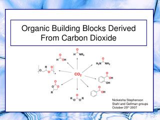 Organic Building Blocks Derived From Carbon Dioxide