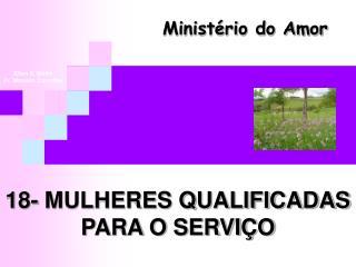 18- MULHERES QUALIFICADAS PARA O SERVI O
