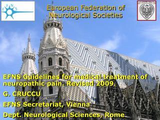 European Federation of Neurological Societies