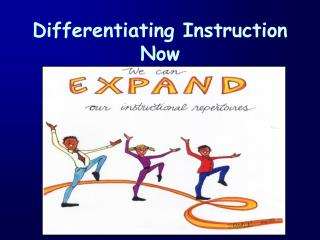 Differentiating Instruction Now