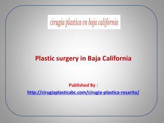 cirugía plástica rosarito