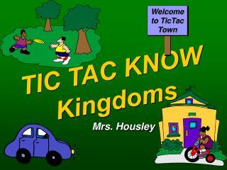 TIC TAC KNOW Kingdoms