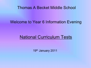 Thomas A Becket Middle School