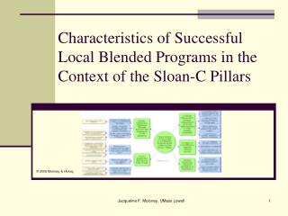 Characteristics of Successful Local Blended Programs in the Context of the Sloan-C Pillars