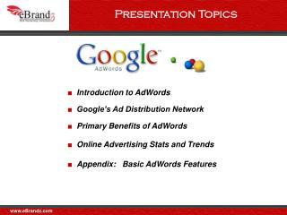 The Google Network consists of Google sites  partner properties that use Google AdSense to serve AdWords adsThese proper