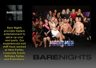 Hens Party Packages – Bare Nights