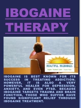 Ibogaine Therapy