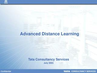 Advanced Distance Learning