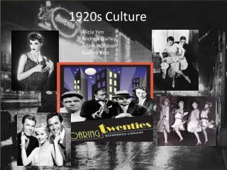 1920s Culture